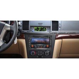 2 Din HD Chevy Chevrolet Epica Lova Captiva Ecran tactile Navigation GPS Radio RDS TV DVD Dual Zone Bluetooth musique MP3 AUX Contrôle Volant