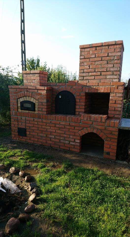 Grill Wedzarnia Piec Chlebowy Kuchnia Pizza Zdun