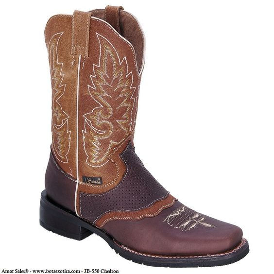 JB-SG550 - Botas Vaqueras Rodeo para Hombre