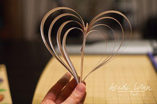 Paper Heart Garland: A (Pictorial)Tutorial