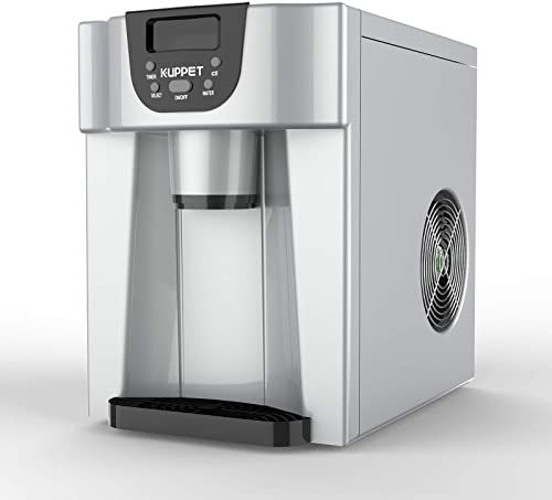 Buy Kuppet 2 1 Countertop Ice Maker Produces 36 Lbs Ice 24 Hours