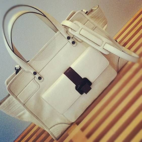 Pretty epic satchel #Fall2012 Posted by Rebecca Minkoff