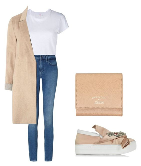 """""""Untitled #333"""" by apeksha-singh-parikh ❤ liked on Polyvore featuring N°21, RE/DONE, Calvin Klein, mel and Gucci"""