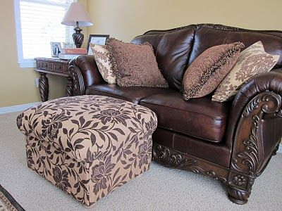 DIY: Ottoman; Build your own from scratch