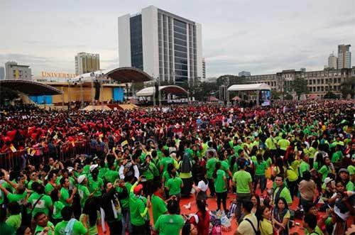 Discurso del Papa Francisco a los jóvenes de Filipinas