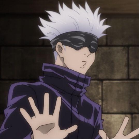 Gojou Satoru Anime Anime Icons Jujutsu