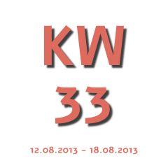 Die Aktuelle KW - Kalenderwoche heute ist die kw 33 und geht von 12.08.2013 - 18.08.2013