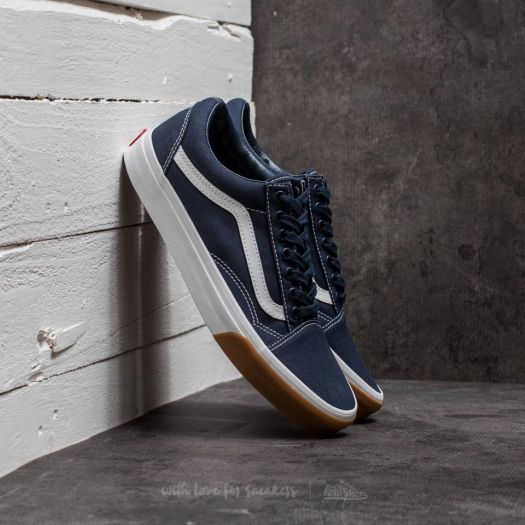 Vans Old Skool (Gum Bumper) Dress Blues True White za