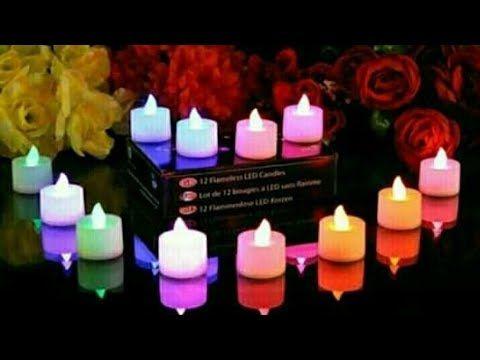طريقة عمل شموع رومانسية بطريقة سهلة وبسيطة Youtube Candles Led Tea Light Candles Tea Lights