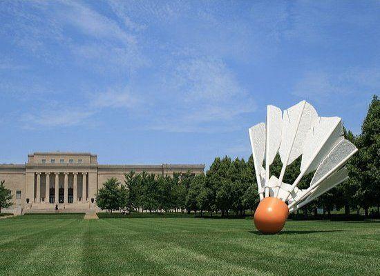 A game of Giant Badminton, anyone? Kansas City, MO.