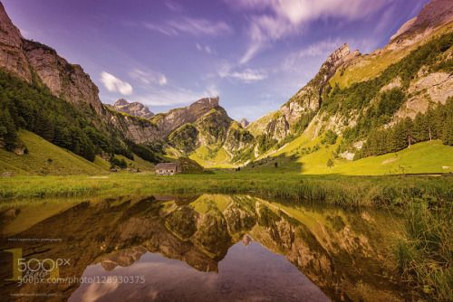 Touchable by umlungu64  Alpstein Appenzell Reflection Schweiz Seealpsee Summer Switzerland h-photo Touchable umlungu64