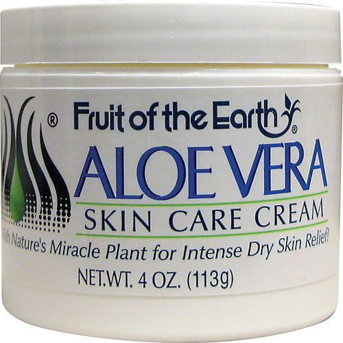 5 99 Fruit Of The Earth Aloe Vera Skin Care Cream 4 Oz Ebay Fashion Aloe Vera Cream Aloe Vera Skin Care Skin Care Cream