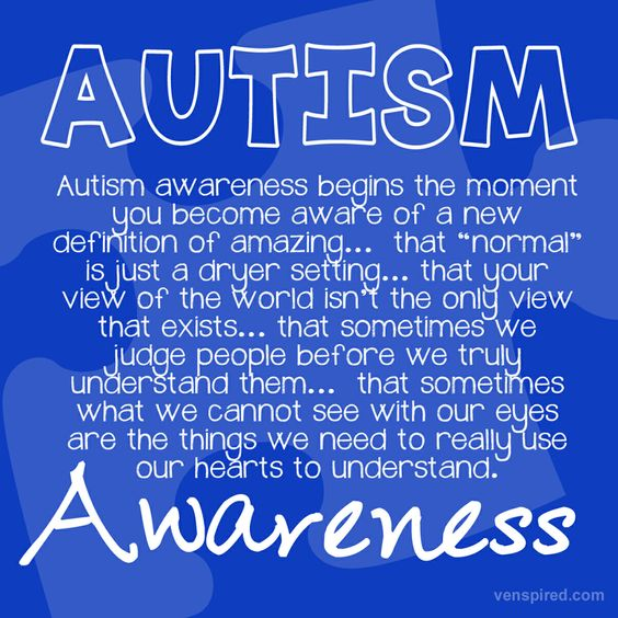 Autism awareness: