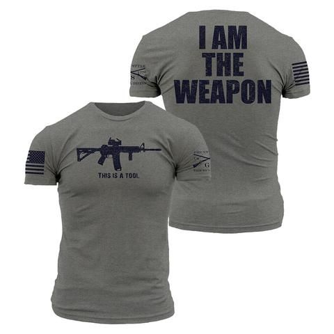 by the #1 seller of Grunt Style Enlisted Ranks t-shirt MAN/'S HEART Grey