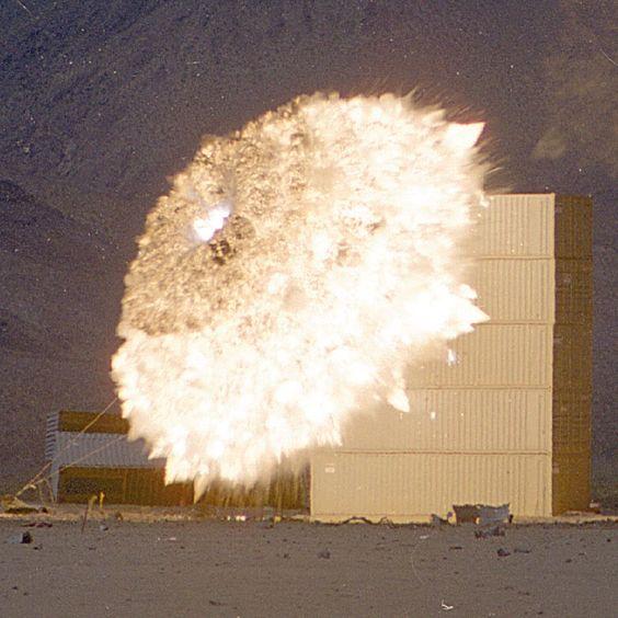 JDAM explosion