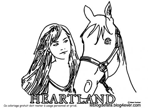 Heartland Coloriage Jpg Zeichnen