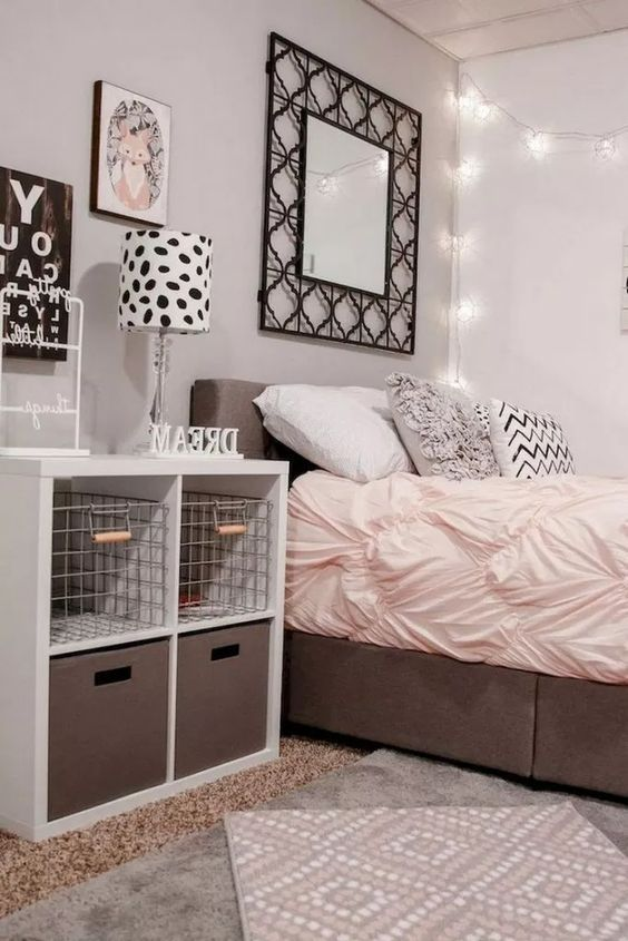 Little Girls Bedroom Tween Girls Bedroom Girls Bedroom Ideas Girls Bedroom Rose Gold Teenag First Apartment Decorating Small Room Bedroom Small Room Design