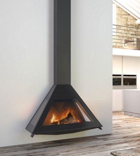 Cheminee Rocal D10 Suspendue Design Spectaculaire En Forme De