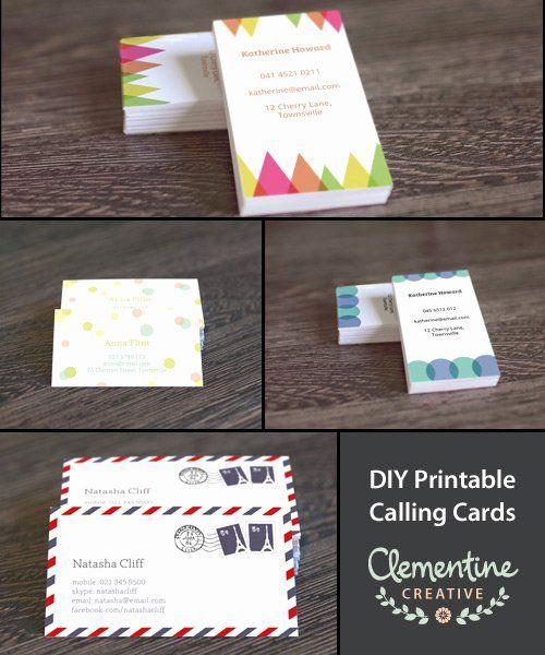 Diy Business Cards Template Beautiful Free Diy Printable Business Card Temp Free Printable Business Cards Printable Business Cards Business Cards Diy Templates