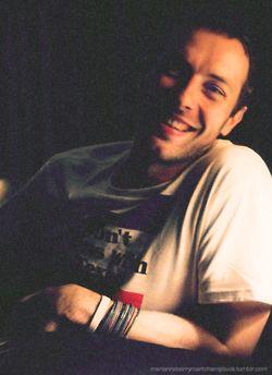 Chris Martin. i will love you forever.