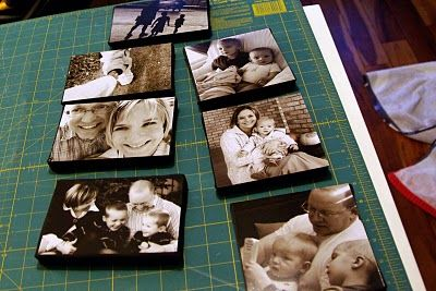 tales from the crib: Thrifty Canvases - I really like this idea!