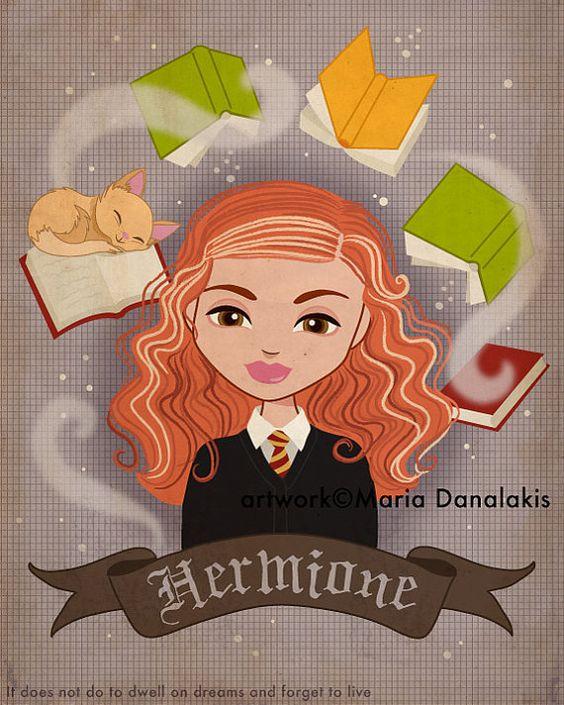 Hermione Granger by Maria Danalakis