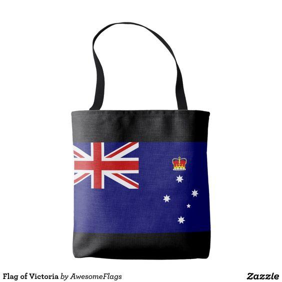 Flag of Victoria Tote Bag