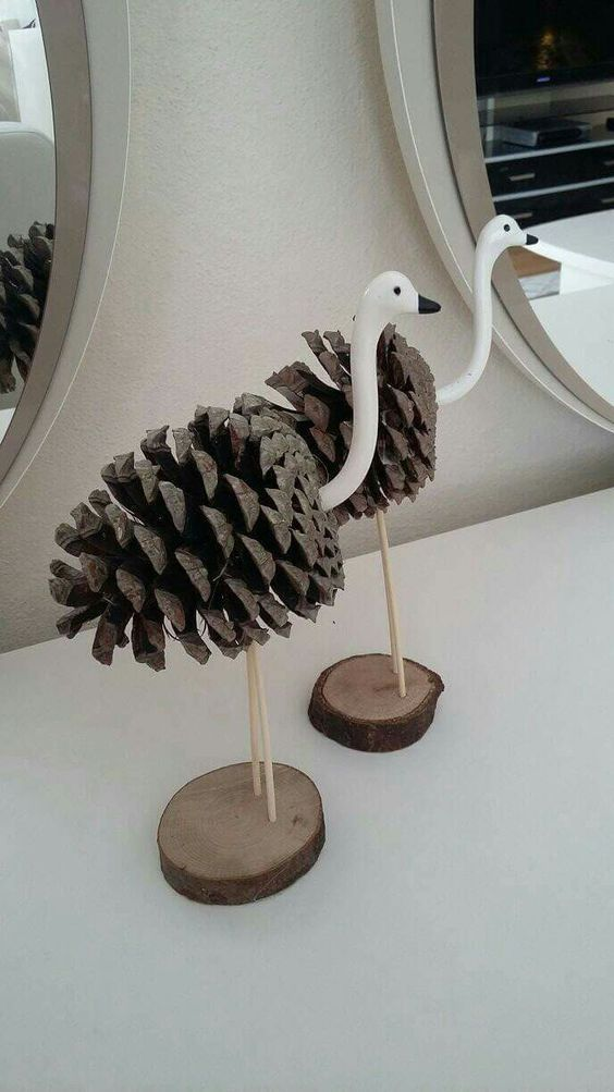 28 Diy Made With Natural Elements Gift Ideas At No Cost Photo Blog Wood Craft Projects Pine Cone Crafts Cones Crafts