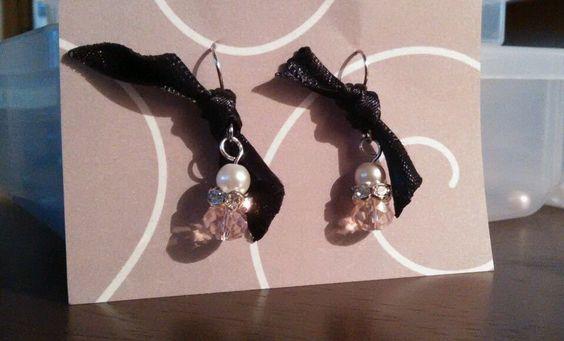 Handmade Pearl earrings in Earrings | eBay