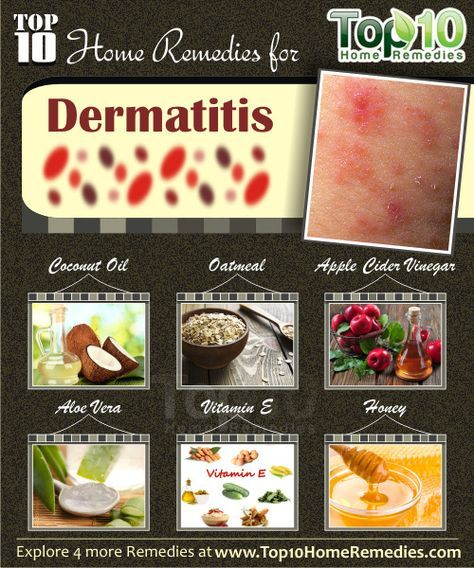 Prev post1 of 3Next Dermatitis refers to inflammationof the skin. It can be of different types like contact dermatitis, atopic dermatitis,seborrheic dermatitis, etc. Symptoms of dermatitis include inflammation, swelling, itching, burning sensation and redness. Severe dermatitis can also produce blisters, crusting and scaling of skin. Some of the common causes are an allergic reaction, certain