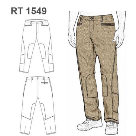 Molde Pantalon Trabajo Tactica Rt 1549 Pantalones De Trabajo Jeans Para Hombre Pantalones De Caballeros