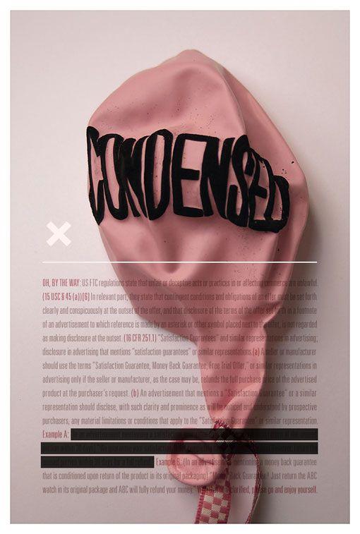 Tom Davie: 2012 Typographic Prints