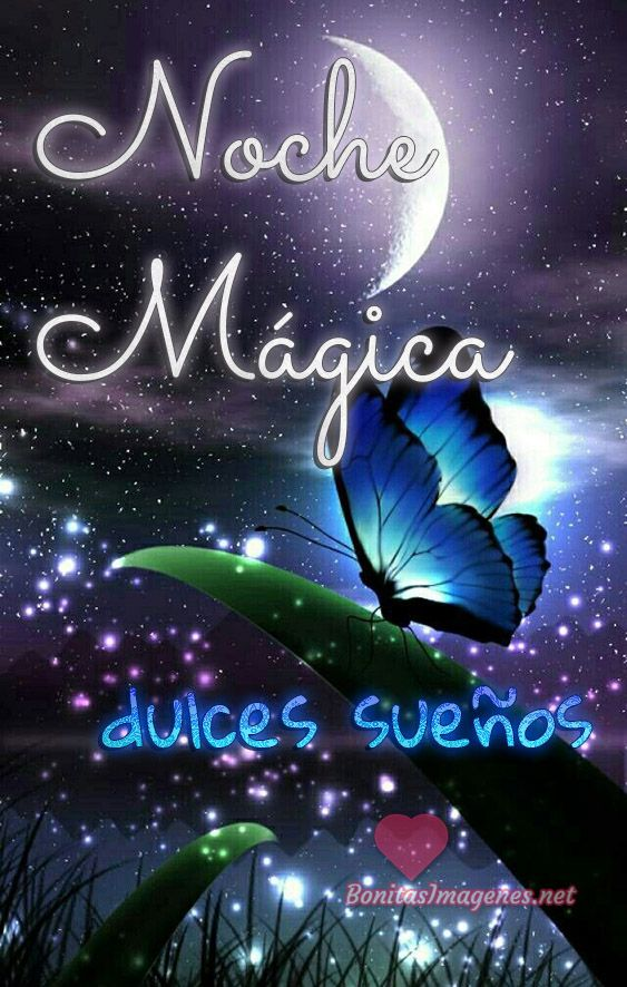 Noche Magica Dulces Suenos Mensajes Whatsapp Buenas Noches
