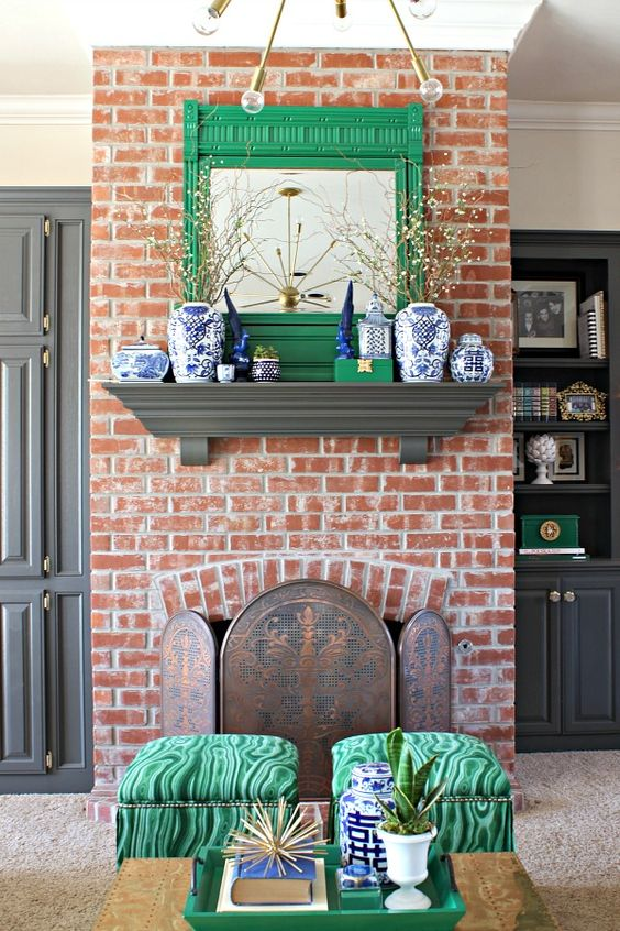 Dimples and Tangles: PROJECT DESIGN: SPRING MANTEL TWO WAYS:
