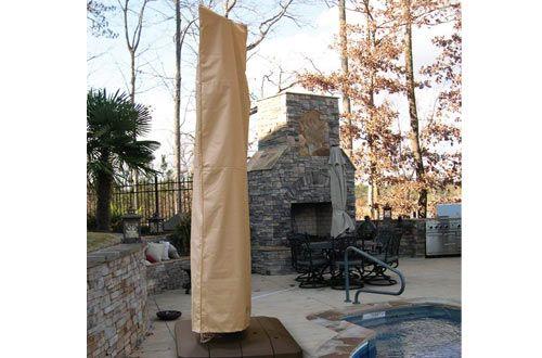 Hearth Garden Sf40239 Offset Umbrella Cover Patio Umbrella Covers Patio Furniture Covers Offset Patio Umbrella