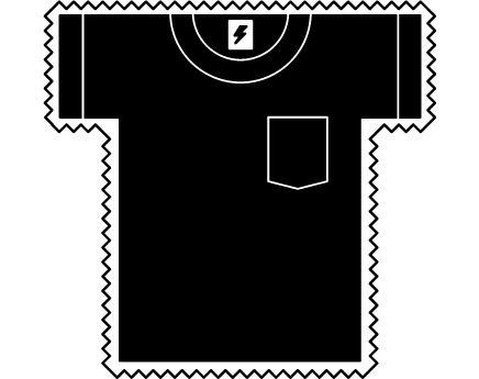 Camiseta eléctrica