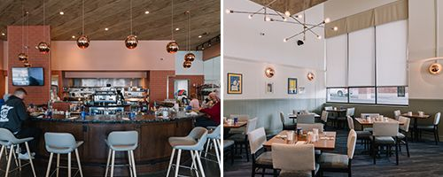 What S New In Restaurant Paint Color Palettes And Design