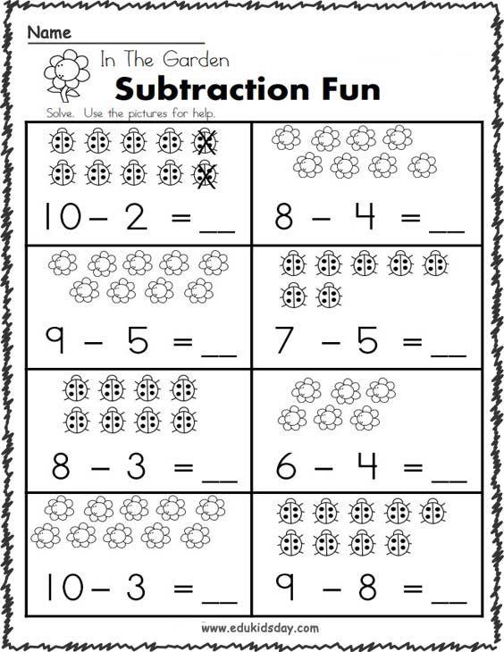 Free New Grade 1st Printable Worksheets Kindergarten Edukidsday Com In 2020 Kindergarten Math Worksheets Free Preschool Math Worksheets First Grade Math Worksheets