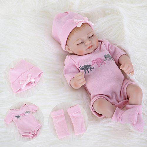 Ena Reborn Baby Doll Realistic Silicone Vinyl Baby 10 Inc Https Www Amazon Com Dp B07dxl7ftb Ref Cm S Reborn Baby Dolls Reborn Babies Realistic Baby Dolls