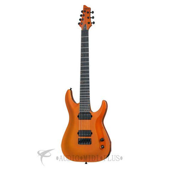 Schecter Schecter Keith Merrow KM-7 7 String Electric Guitar - Lambo Orange