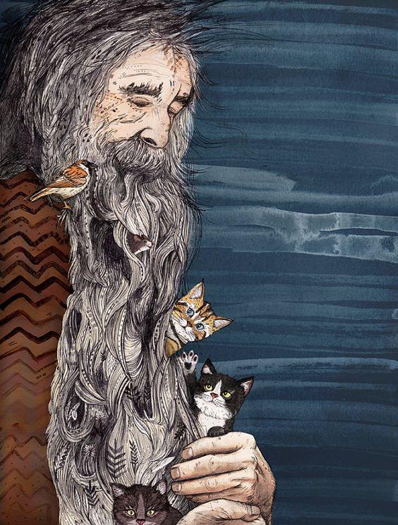 Beardnest // Sandra Dieckmann: