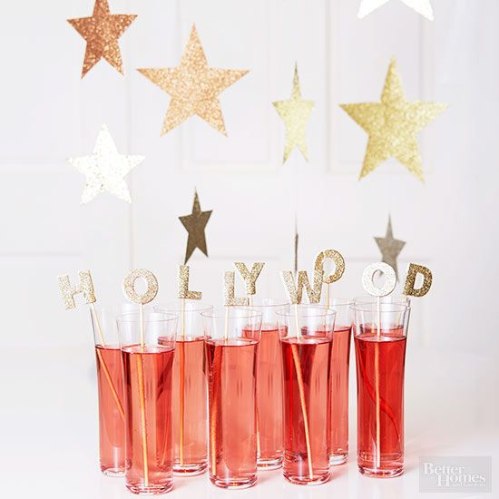 Party Hollywood-Style. Oscar party free printables.: