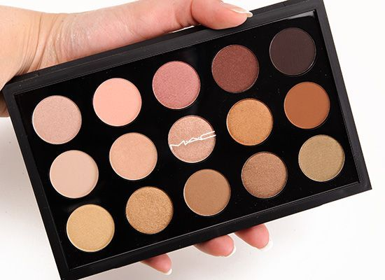 MAC Eyeshadow x15 Warm Neutral Palette : http://www.maccosmetics.co.uk/product/2222/28062/Products/Eyes/Eye-Kits/Eye-Shadow-x15-Warm-Neutral/index.tmpl