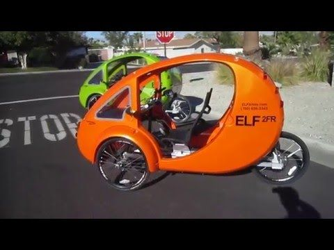 Elf Bikes Walkaround Youtube Bike Elf Reverse Trike