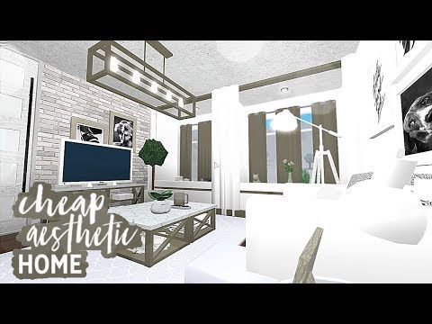 Ethrielle Youtube In 2021 Unique House Design Modern Family House Aesthetic Rooms Living room ideas on bloxburg
