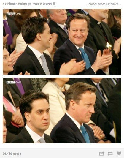 When they nailed the relationship between David Cameron and Ed Miliband. | 29 Times Tumblr Completely Got What It Means To Be British