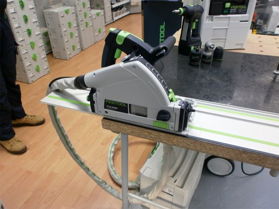 Festool TS 55 Plunge Saw and Guide Rail