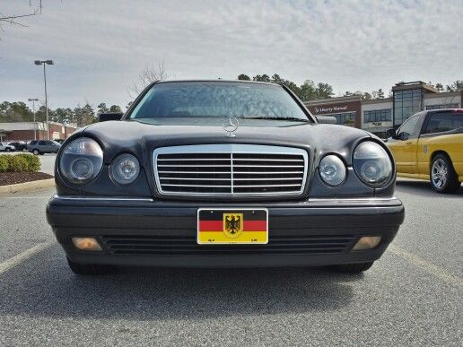 1999 Mercedes Benz E430 AMG with custom exhaust and other