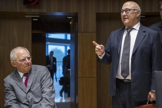 French Finance Minister Michel #Sapin criticized his German counterpart Wolfgang #Schäuble for his #Grexit idea.
