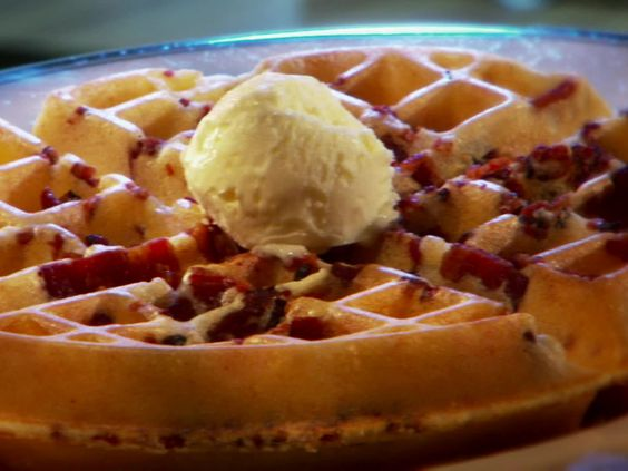 Join Guy Fieri, of Food Network's Diners, Drive-Ins and Dives, in San Antonio, TX, for a hot breakfast at Magnolia Pancake Haus, where they've been serving up bacon stuffed waffles and puffy apple, cinnamon pancakes since 2000.